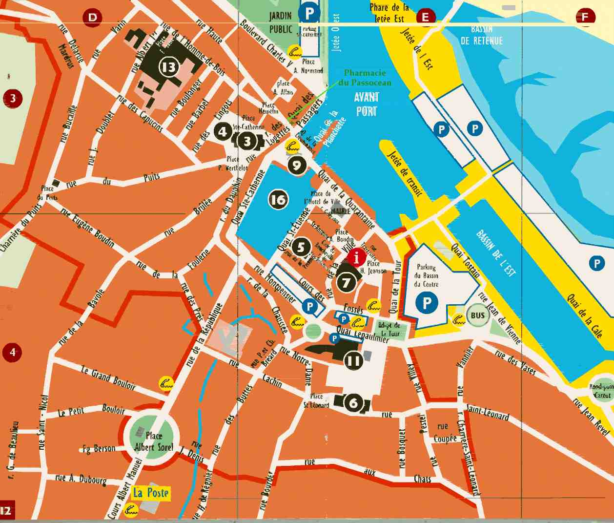 Plan Centre Ville Orange
